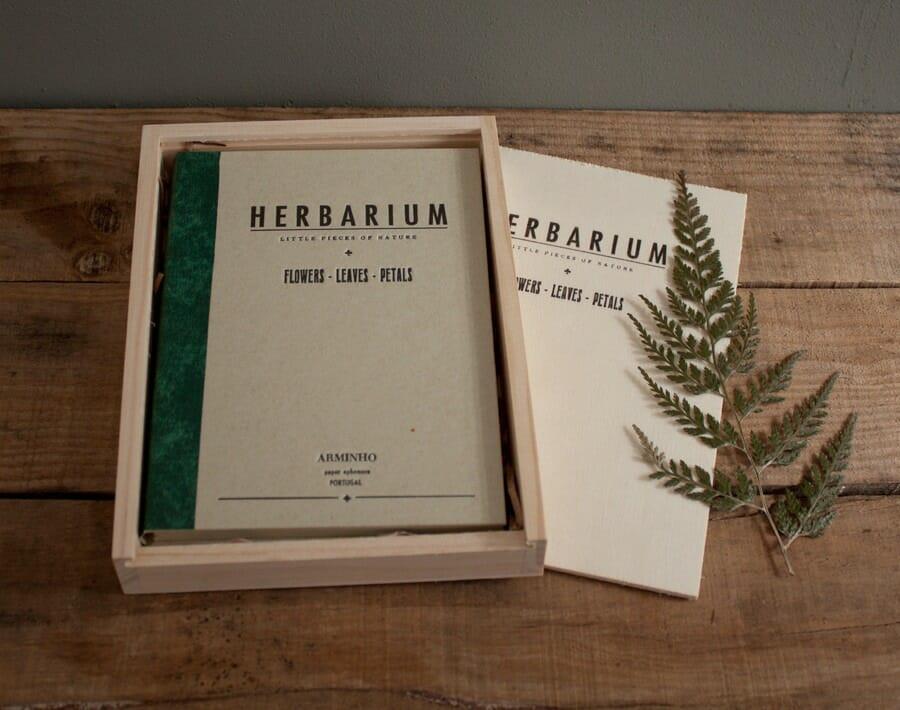 Herbarium Deckblatt